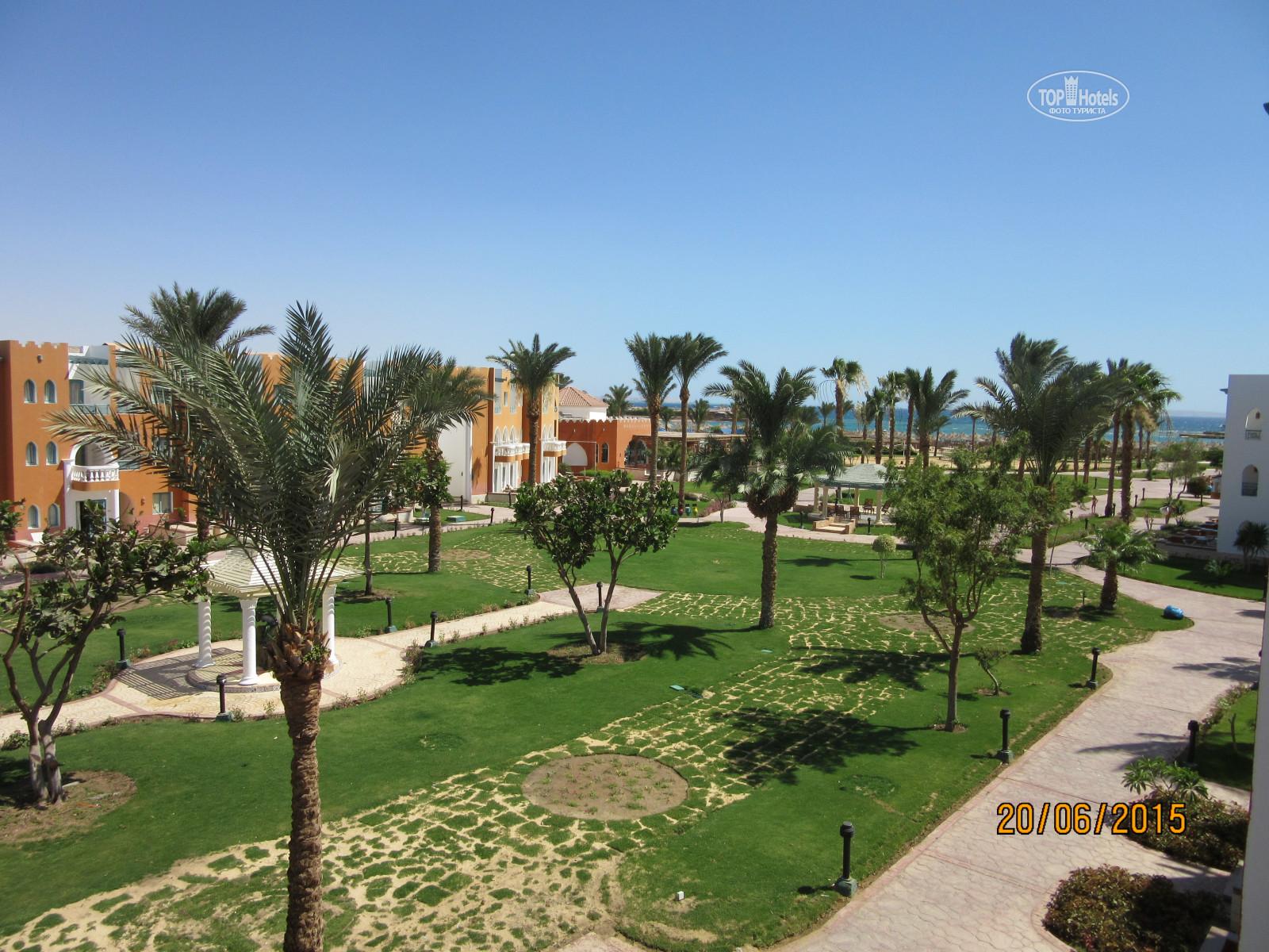 All photos: View from the room отеля Sunrise Select Garden Beach ...