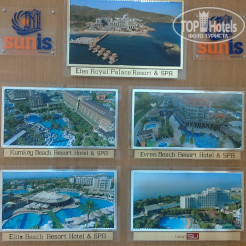 Карта отеля Sunis Elita Beach Resort