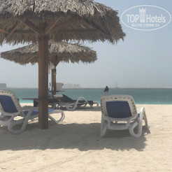 Пляж Hilton Al Hamra Beach & Golf Resort