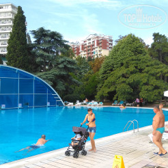 Территория отеля Riviera Sunrise Resort & SPA ALUSHTA