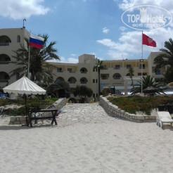 Palmyra Beach 3* Вид с пляжа на отель - Фото отеля