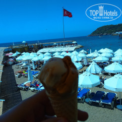 Пляж Orange County Resort Hotel Alanya