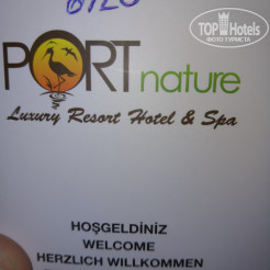 Логотип отеля Port Nature Luxury Resort Hotel & Spa