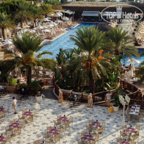 Quattro Beach Spa & Resort 5* Вид на территорию отеля из номера - Фото отеля