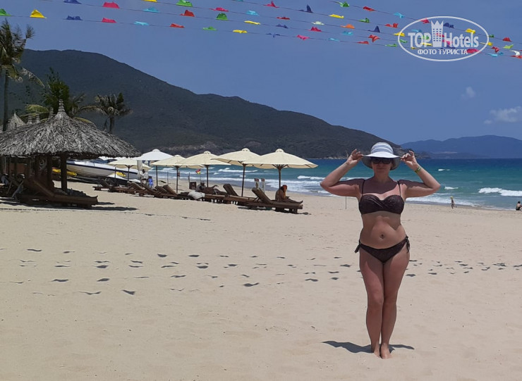 Cam Ranh Riviera Beach Resort & Spa 5* пляж - Фото отеля
