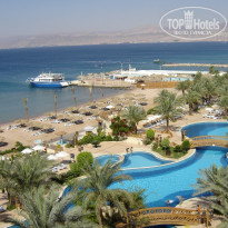 Intercontinental Aqaba 5* Территория, вид с балкона - Фото отеля