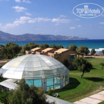 Фото отеля Candia Maris Resort & Spa Crete 5* вид  с балкона на крыты бассейн