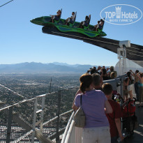 Фото отеля Stratosphere Tower 3* аттракционы