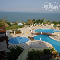 Dead Sea Marriott Resort & Spa 5* вид из номера - Фото отеля