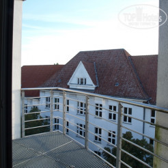 Вид из номера Quality Hotel Berlin Tegel