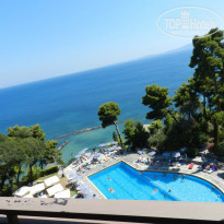 Фото отеля Corfu Holiday Palace 5* Вид с балкона номера