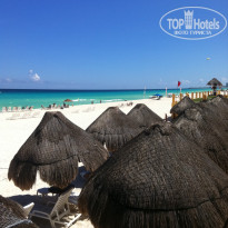 Фото отеля Fiesta Americana Condesa Cancun All Inclusive Hotel 5* пляж