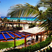 Фото отеля Fiesta Americana Condesa Cancun All Inclusive Hotel 5* вид с нашего номера