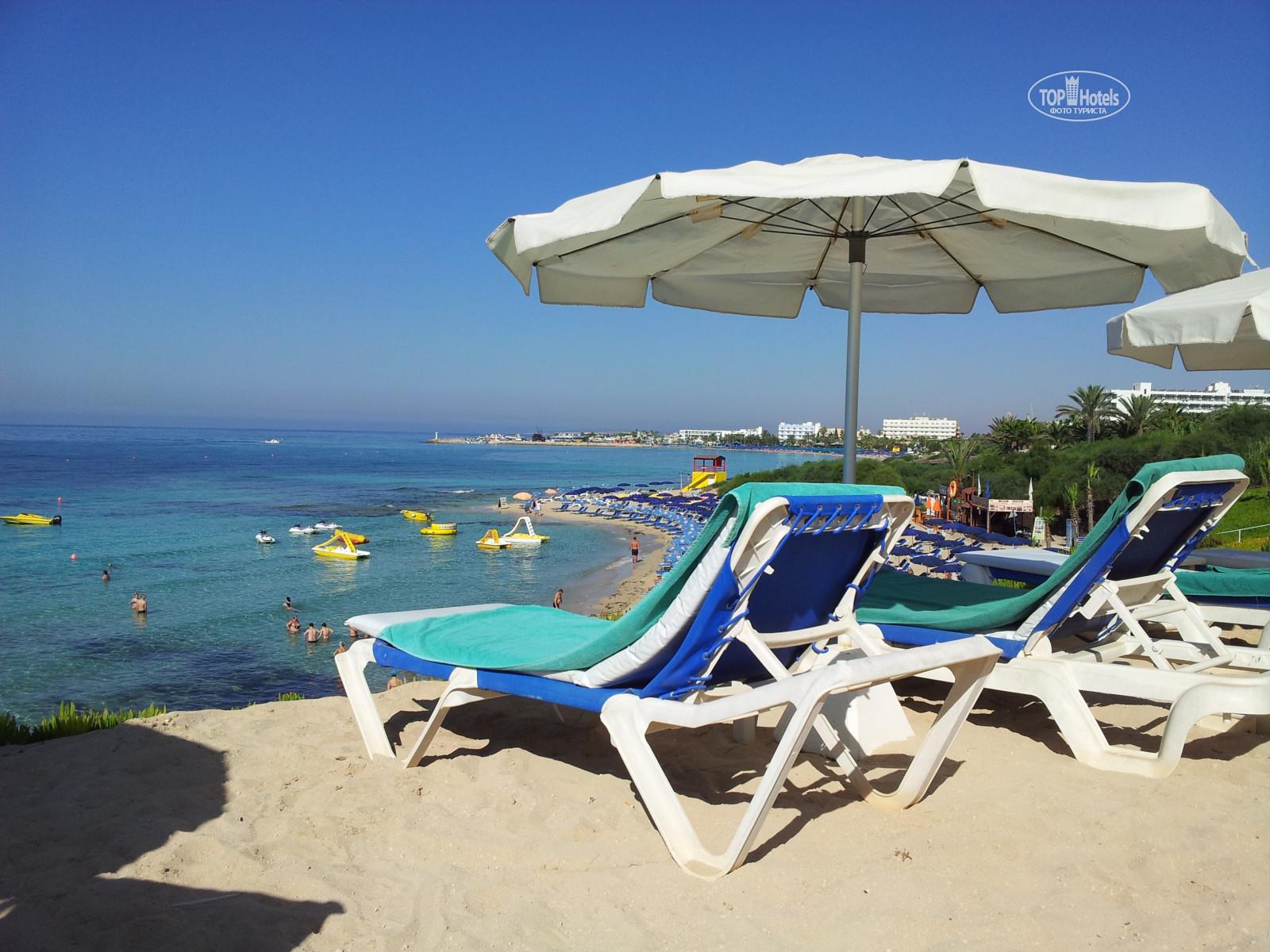 Фото пляжа грециан кипр