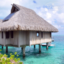 Фото отеля Hilton Bora Bora Nui Resort & Spa 5* бунгало на воде