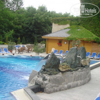 Фото отеля Danubius Health Spa Resort Heviz 4* Открытый бассейн в Danubius health spa resort Heviz