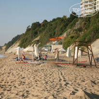 Фото отеля Byala Beach Resort 4* Соседний пляж и пырзалка