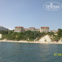 Фото отеля Byala Beach Resort 4* Вид с моря