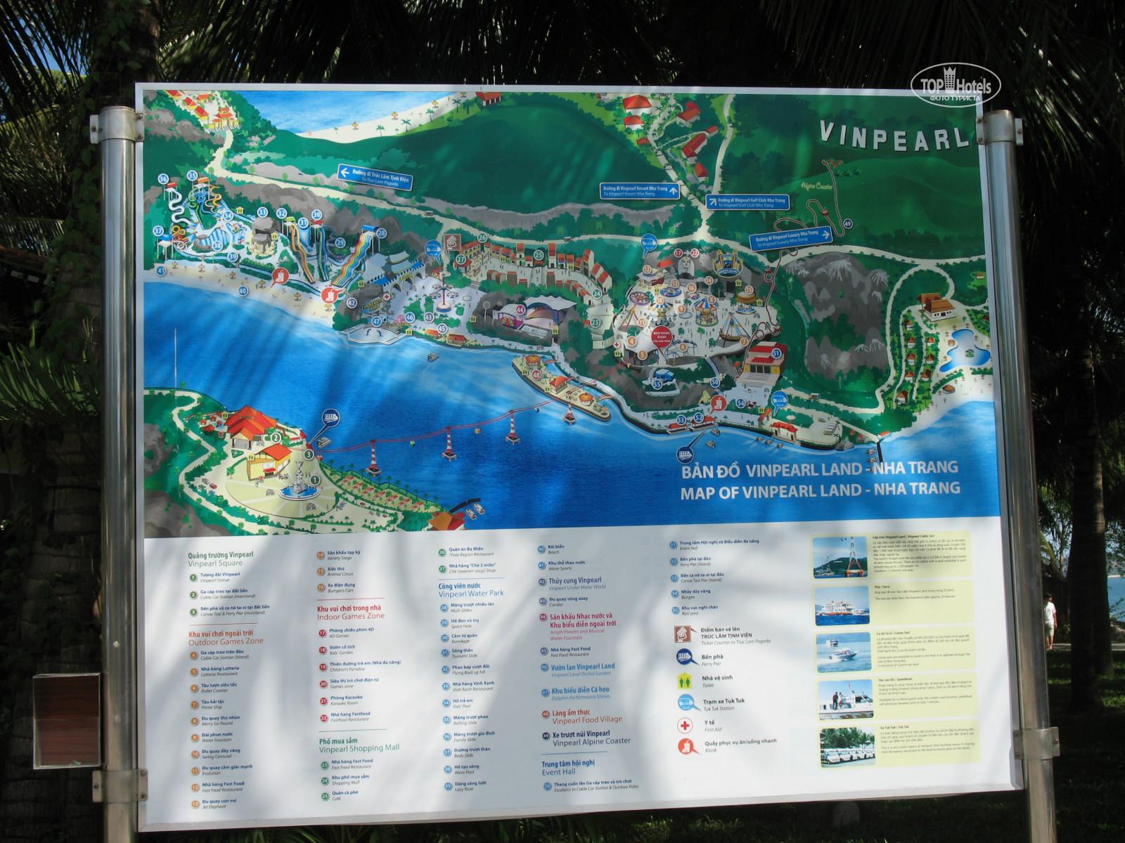 All photos Hotel map Vinpearl Nha Trang Resort 5 Rating of