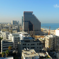 Фото отеля Isrotel Tower Tel-Aviv 5* Вид из номера Mediterranean View Executive Suite отеля Isrotel Tower Tel-Aviv