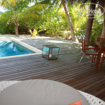 Фото отеля Huvafen Fushi, by PER AQUUM Retreat 5* терраса beach И Deluxe beach bungalow