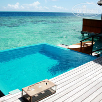 Фото отеля Huvafen Fushi, by PER AQUUM Retreat 5* терраса lagoon и Ocean bungalow