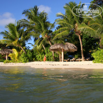 Фото отеля La Digue Island Lodge 4* Пляж отеля