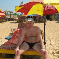 Фото отеля Alor Holiday Resort Calangute 2* Пляж.