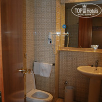Фото отеля City House Florida Norte Madrid Hotel 4* ванная комната