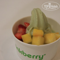Фото отеля Golden Tulip Khatt Springs Resort & Spa 4* Мороженое Pinkberry