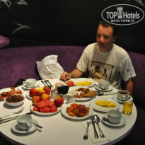 Фото отеля Hard Rock Hotel Pattaya 4* Завтрак